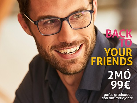 Back to your friends 2MÓ 99€
